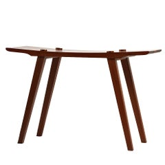 Contemporary Stool in Brazilian Hardwood