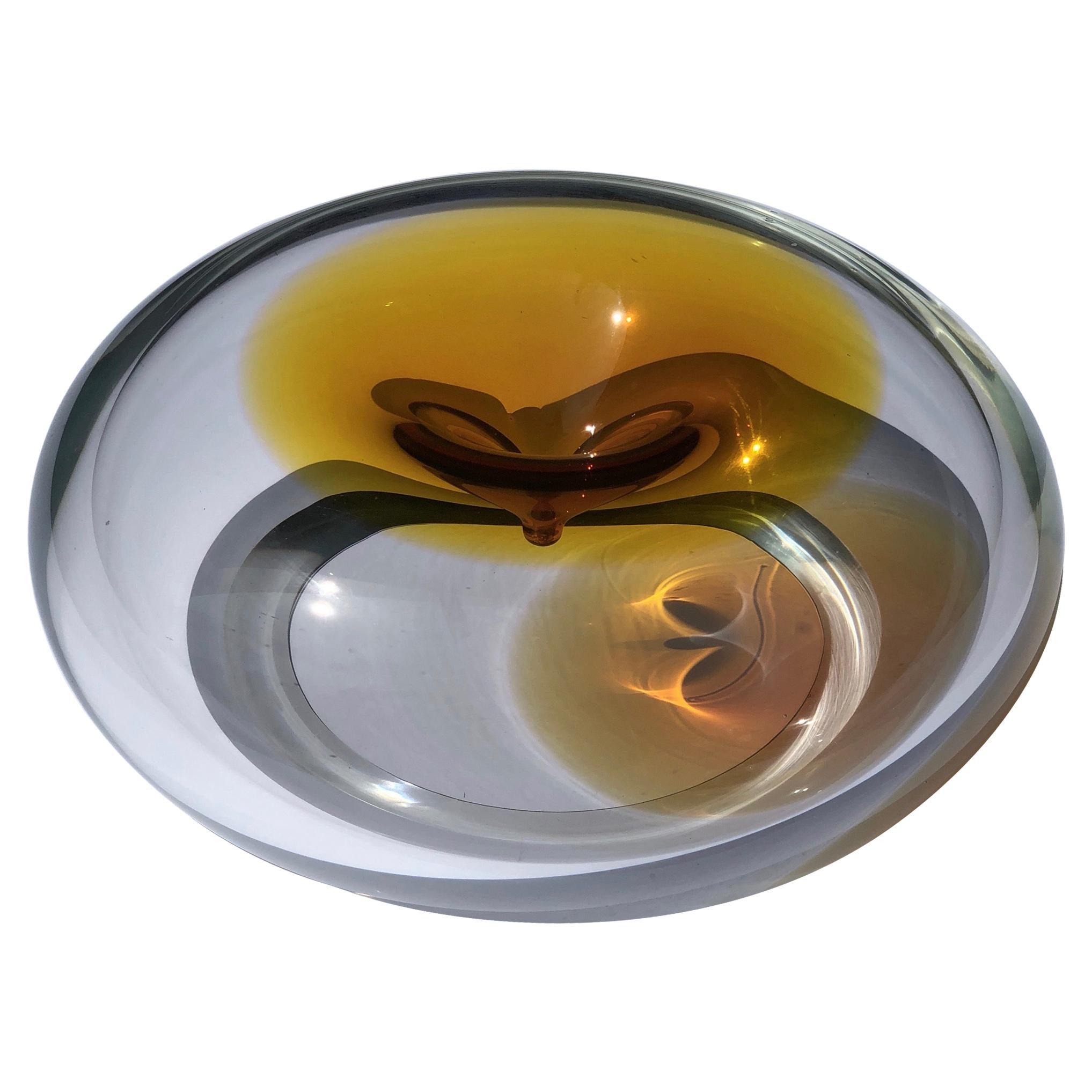 Contemporary Studio Glass, Czech Republic, The Dimple Vase