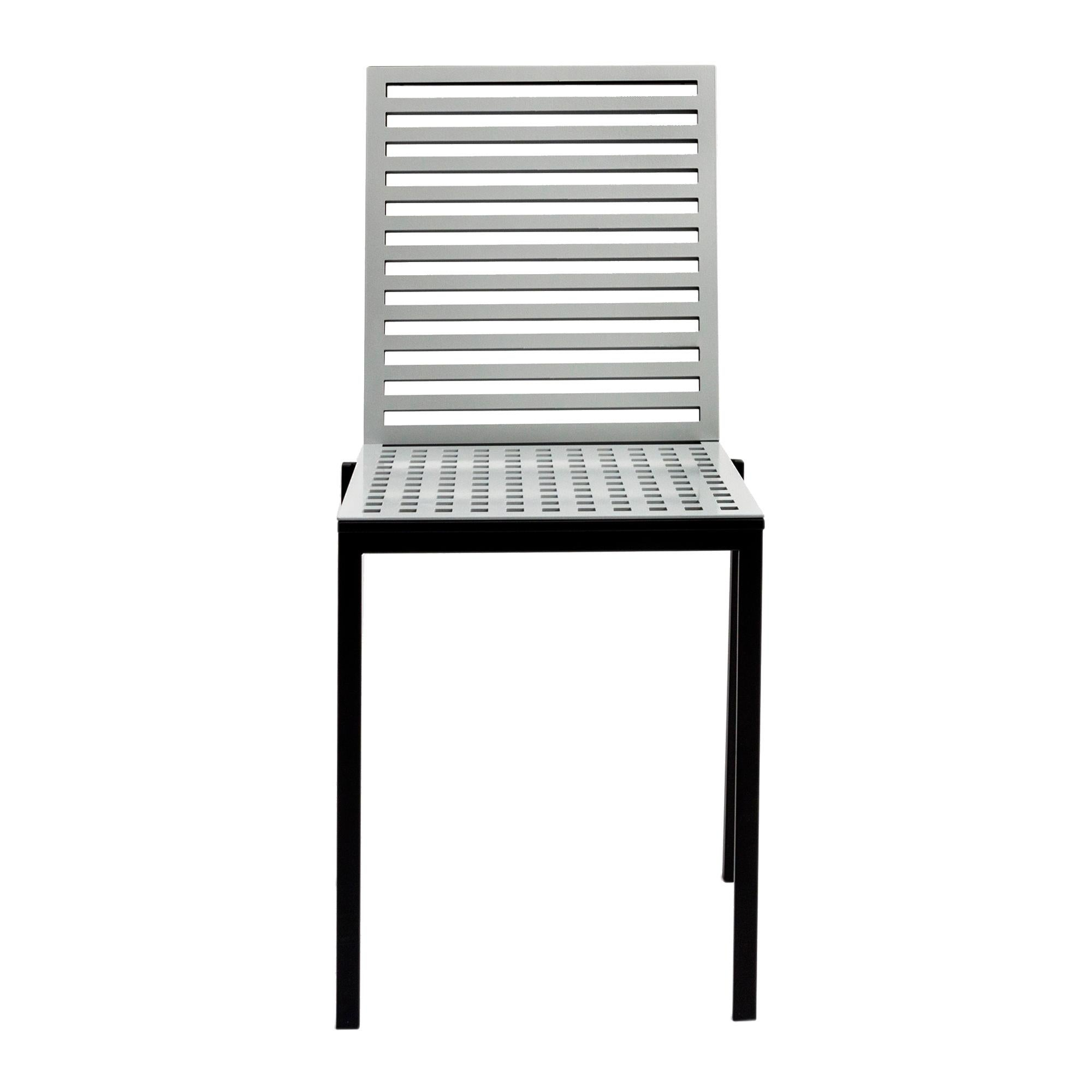 Contemporary Tanit Classic Chair in Natural Aluminum