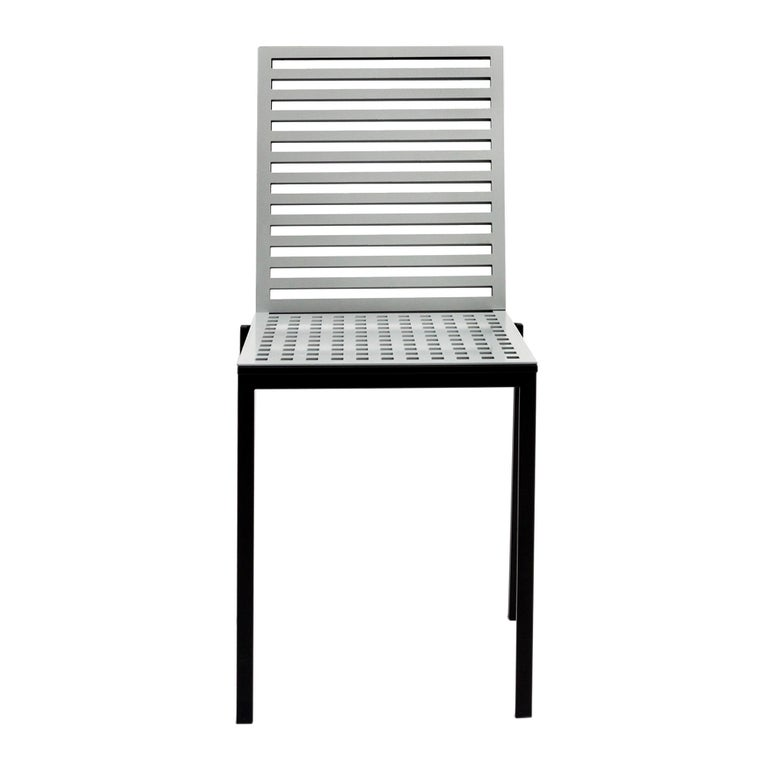 Contemporary Tanit Classic Chair in Natural Aluminum For Sale