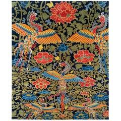 Contemporary Tibetan Area Rug by Carini