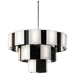 Contemporary Tiered Chandelier