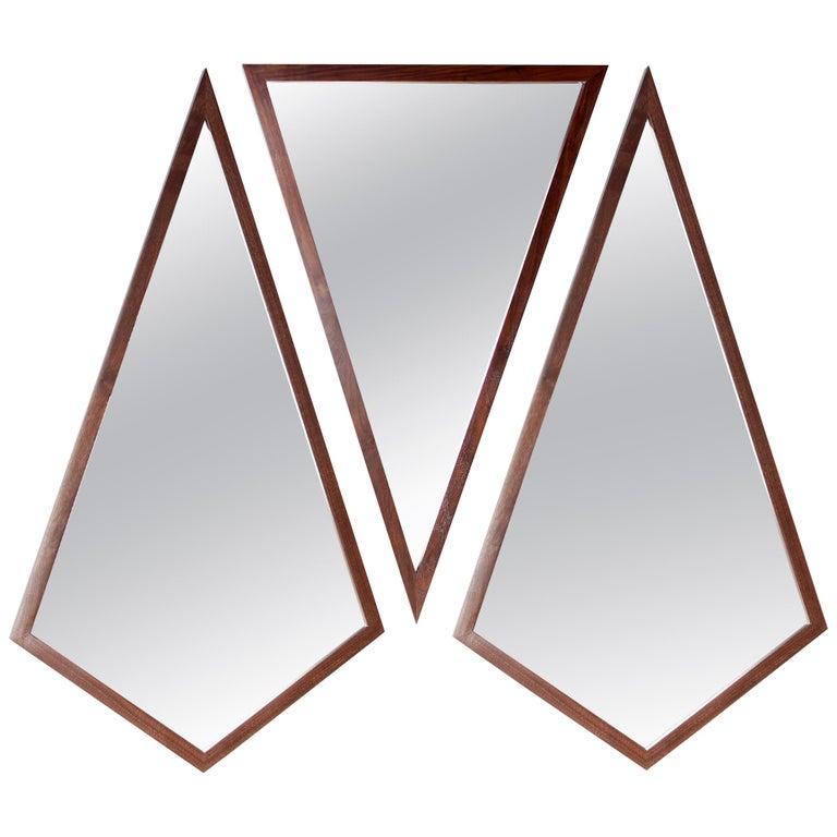 "Contemporary ""Trio Geometric Mirrors II"" by Alex Drew & No One, 2016 For Sale"