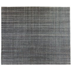 Contemporary Tufted Multi-Color Indian Area Rug
