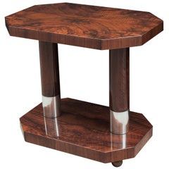 Contemporary Two-Tier Side Table
