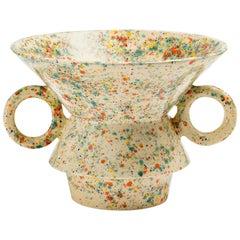 "Contemporary ""V"" Vase Handmade"