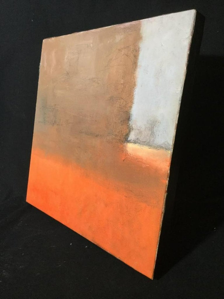 American Contemporary Verso Signed Abstract Oil on Canvas For Sale