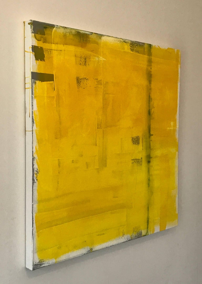 Contemporary Vibrant Abstract Painting Titled \