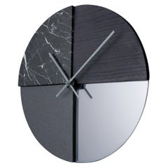 Contemporary Wall Clock from the Mono Collection by Cooperativa Panorámica