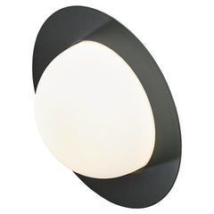 Contemporary Wall Lamp 'Alley' by AGO 'Large-Black'