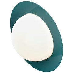 Contemporary Wall Lamp 'Alley' by AGO 'Large-Green'