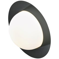 Contemporary Wall Lamp 'Alley' by AGO 'Small-Black'