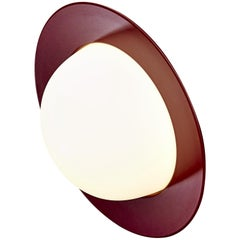 Contemporary Wall Lamp 'Alley' by AGO 'Small-Burgundy'
