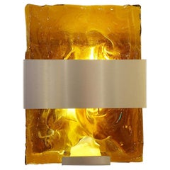Contemporary Wall Lights, Belgian Creation by Jacques Nonnon