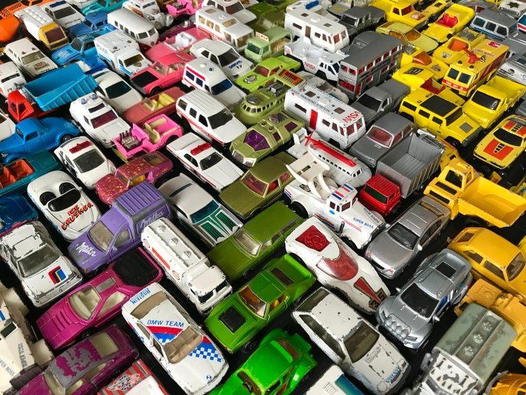 Contemporary Wall-Mounted 'Cars' Sculpture by Laurence Poole, 2020 For Sale 2