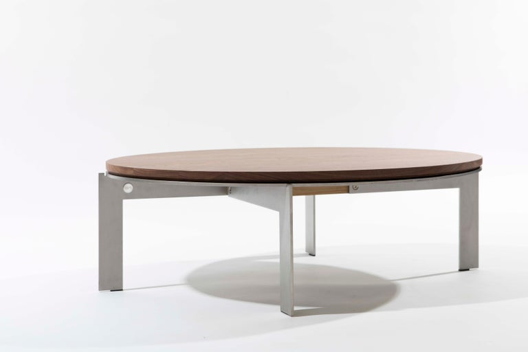 Joined is a collection of side tables. The name speaks for itself. The tables have one thing in common, they all exist around a crucial part, the joint, keeping all pieces together. Available in many shapes and materials. Every model can be finished