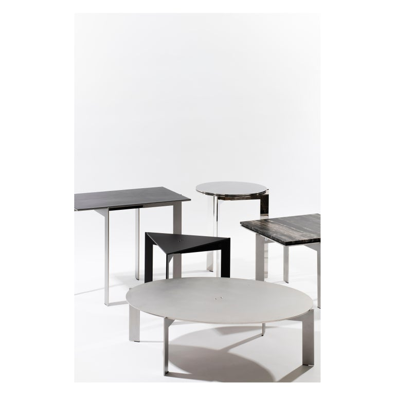 Contemporary Walnut Side Table, Joined E24.4 by Barh For Sale 2