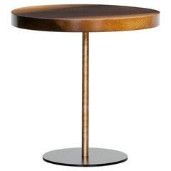 Contemporary Walnut Wood Coffee Table by Johannes Hock 'B'