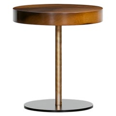Contemporary Walnut Wood Coffee Table by Johannes Hock 'D'