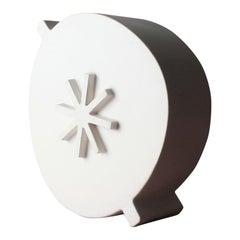 Contemporary White Ceramic Salad Bowl Serving Dish Handmade