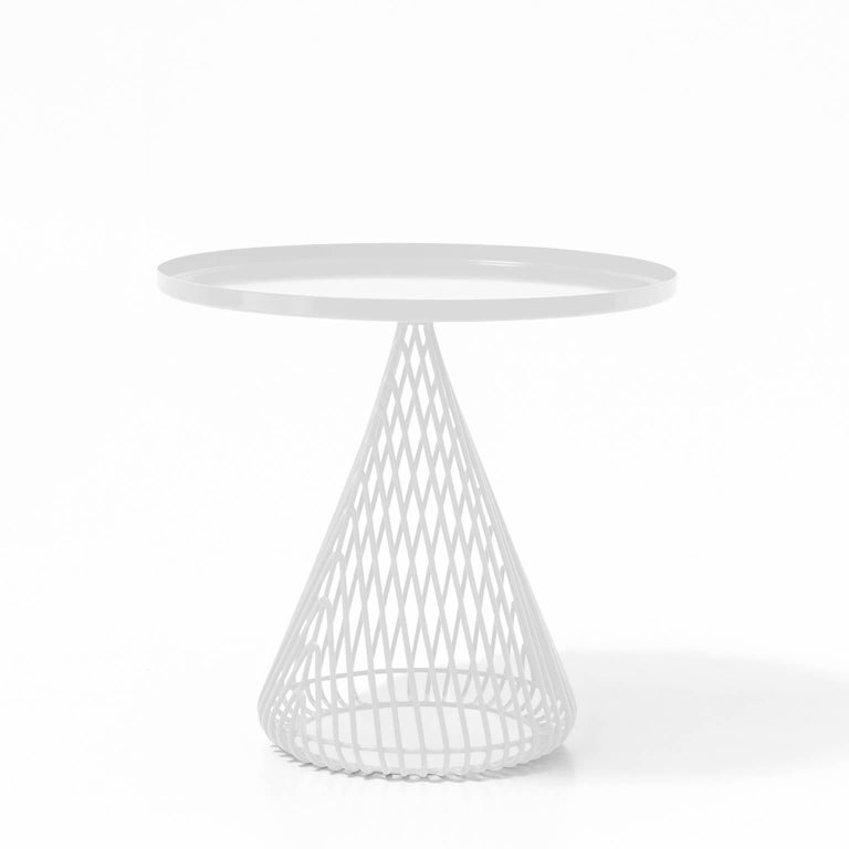 Galvanized Contemporary Wire Cocktail