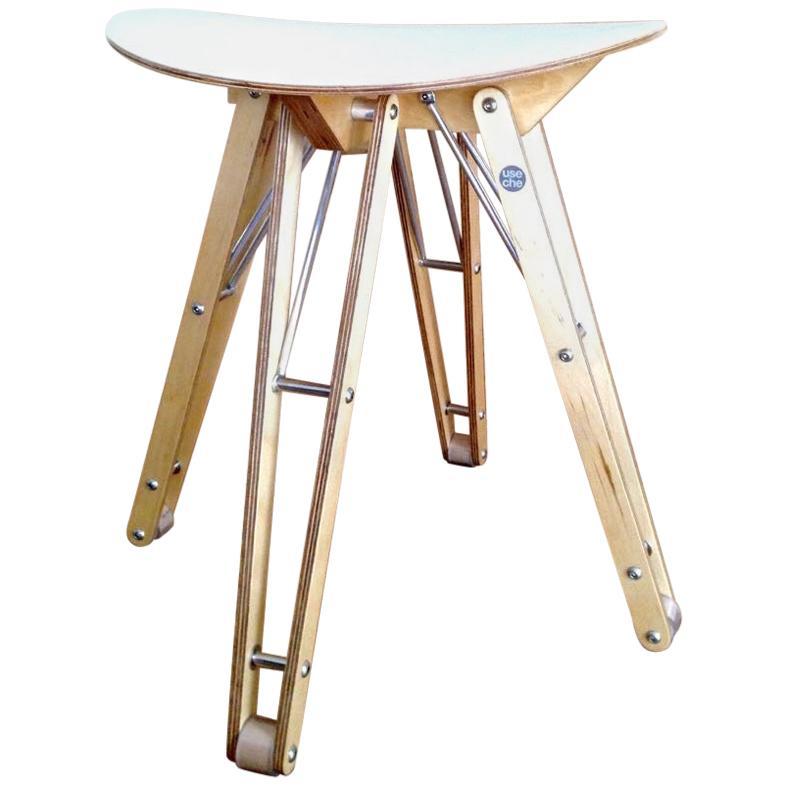 Contemporary Wood Stool