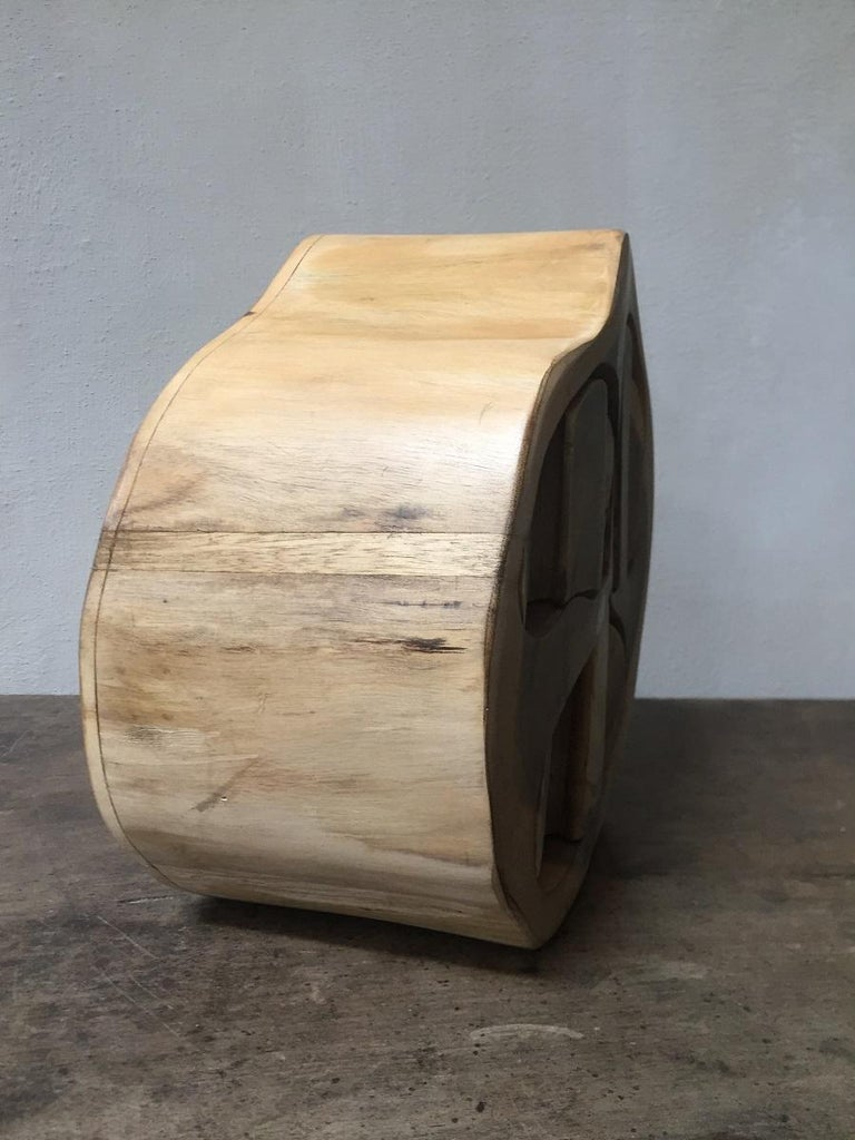 20th Century Contemporary Wood Turned Box For Sale