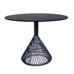 Contemporary, Wire, Four Person Bistro Table by Bend Goods