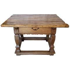 Continental Alder and Chestnut Farm Table