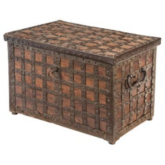 Continental Baroque Trunk or Strong Box
