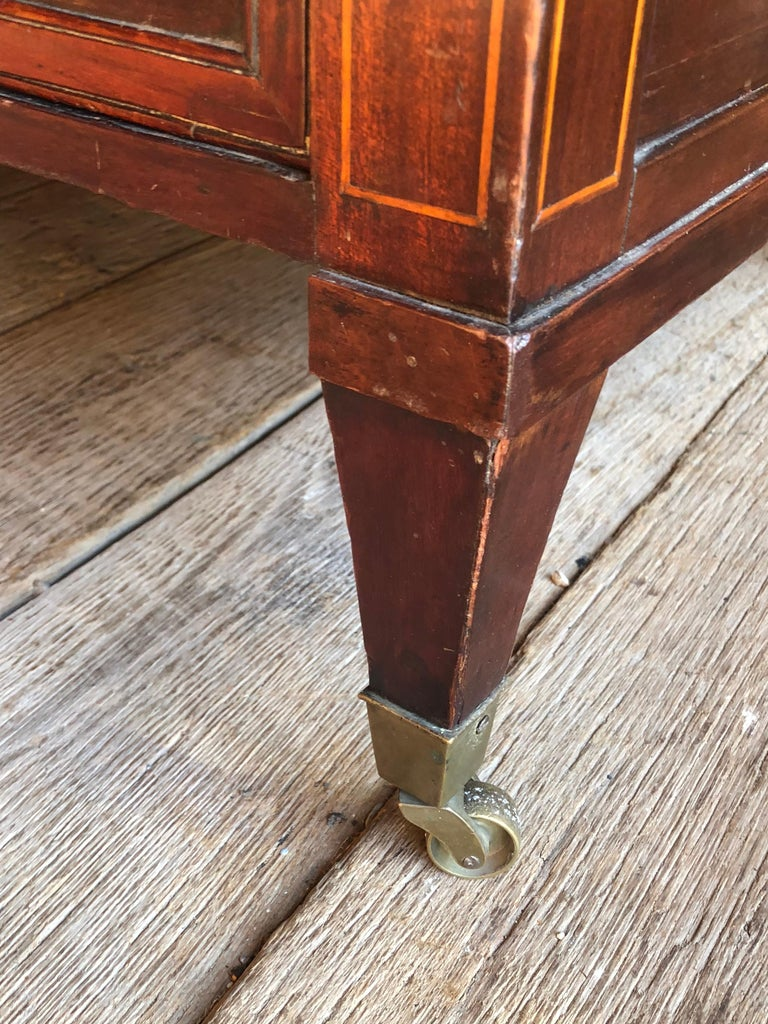 Continental Cylinder Desk, 19th Century For Sale 6
