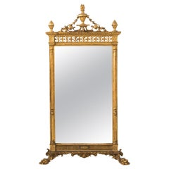 Continental Gilded Mirror