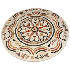 Continental Inlaid Marble Table Top