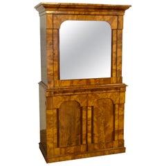 Continental Mahogany Cabinet