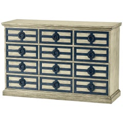 Continental Painted Chest