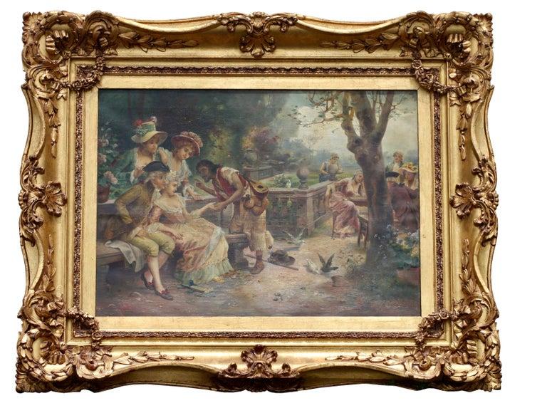 Continental School, 20th century Oil on canvas