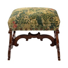 Continental Style Upholstered Bench
