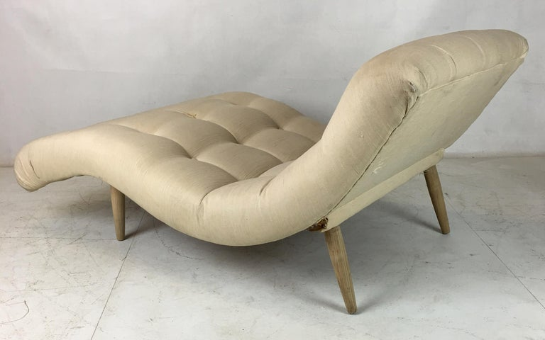 Mid-Century Modern Contour Chaise Longue by Adrian Pearsall for Craft Associates For Sale