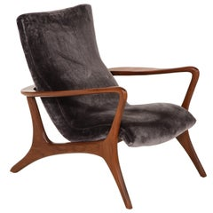 Contour Low Back Lounge Chair Offered by Vladimir Kagan Design Group