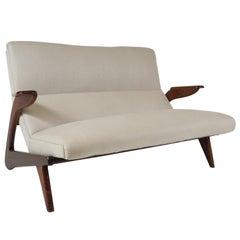 Contoured Sofa: Italian 1960's