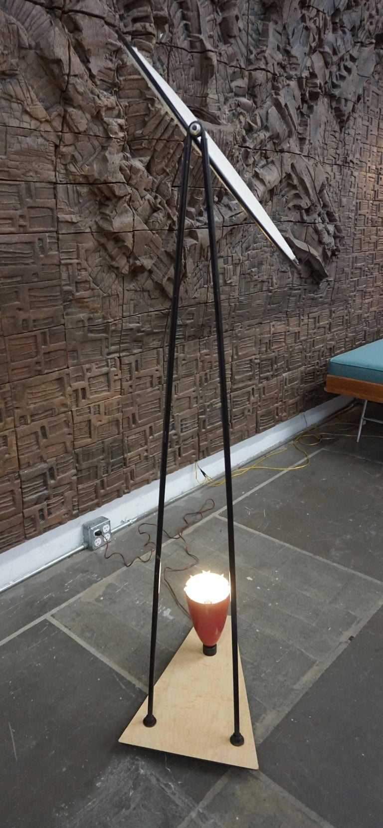 Mid-Century Modern Control Floor Lamp by Mitchell Bobrick For Sale