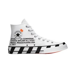 Converse X Off White Chuck Taylor White Men's (10 US)