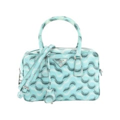 Convertible Bauletto Bag Printed Saffiano Small