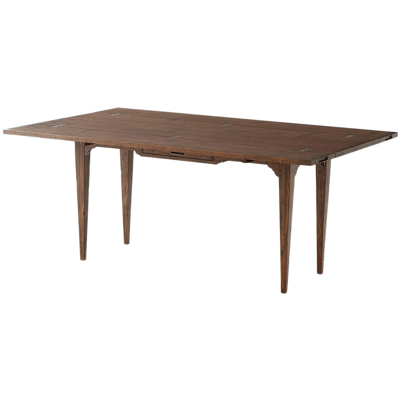 Convertible Console Dining Table