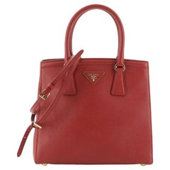 Convertible Parabole Tote Saffiano Leather Small