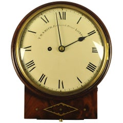 Convex Fusee Dial Clock T.W. Smith, London