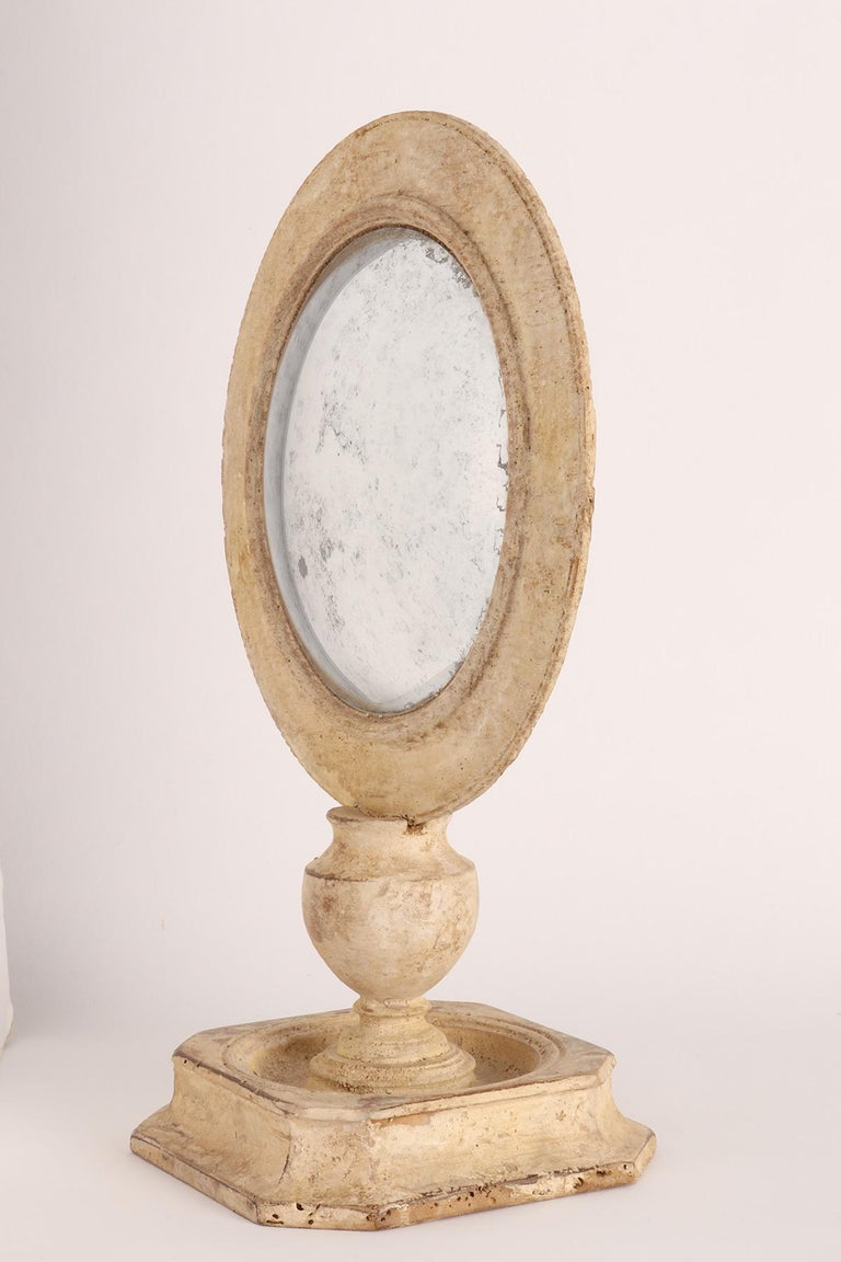 Convex Round Mirror, Italy, 1870 In Excellent Condition In Milan, IT