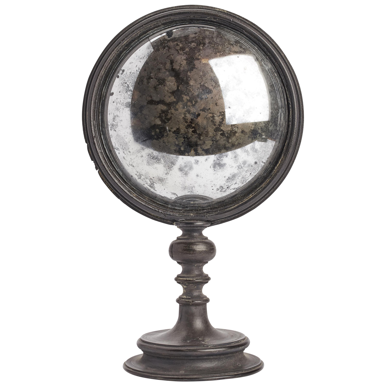 Convex Round Mirror, Italy 1870
