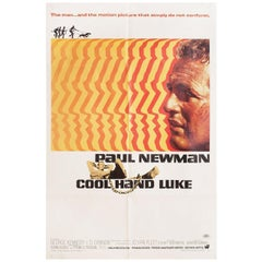 """Cool Hand Luke"" 1967 U.S. One Sheet Film Poster"