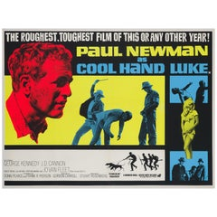 """Cool Hand Luke"" UK Film Poster, 1967"